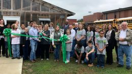 H.O.P.E. Greenhouse ribbon cutting photo